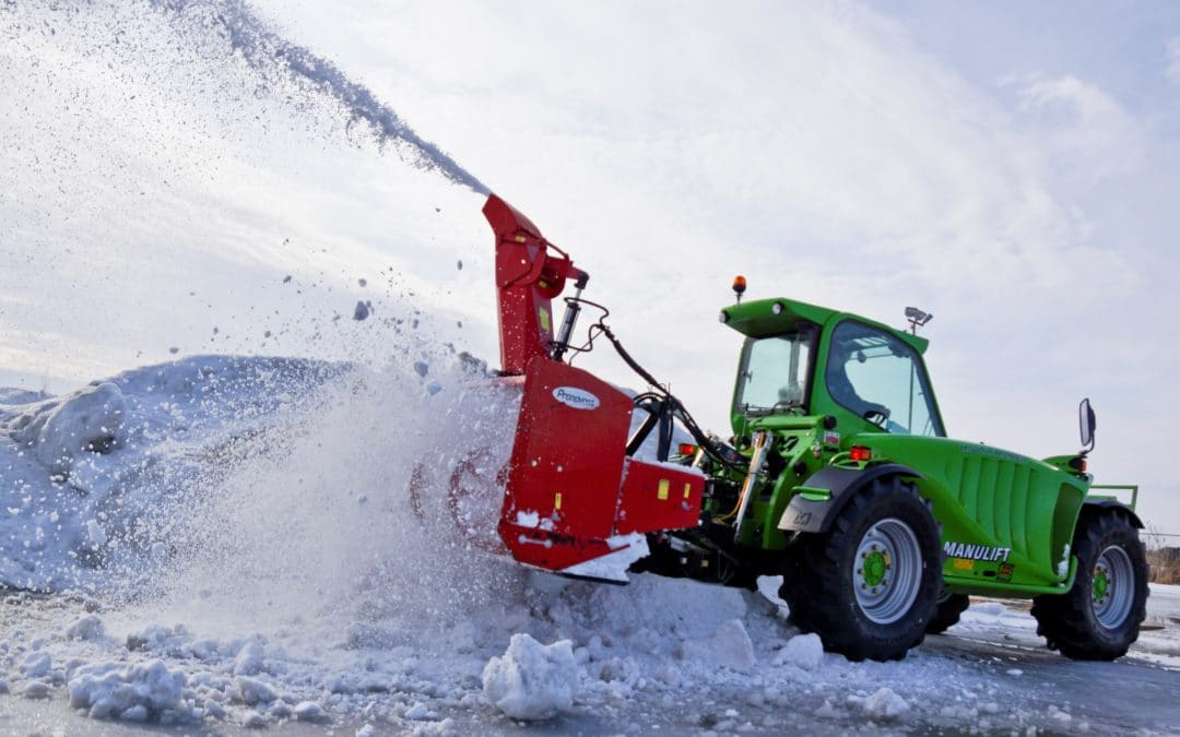 5 Ways A Telehandler Can Improve Your Snow Removal Business