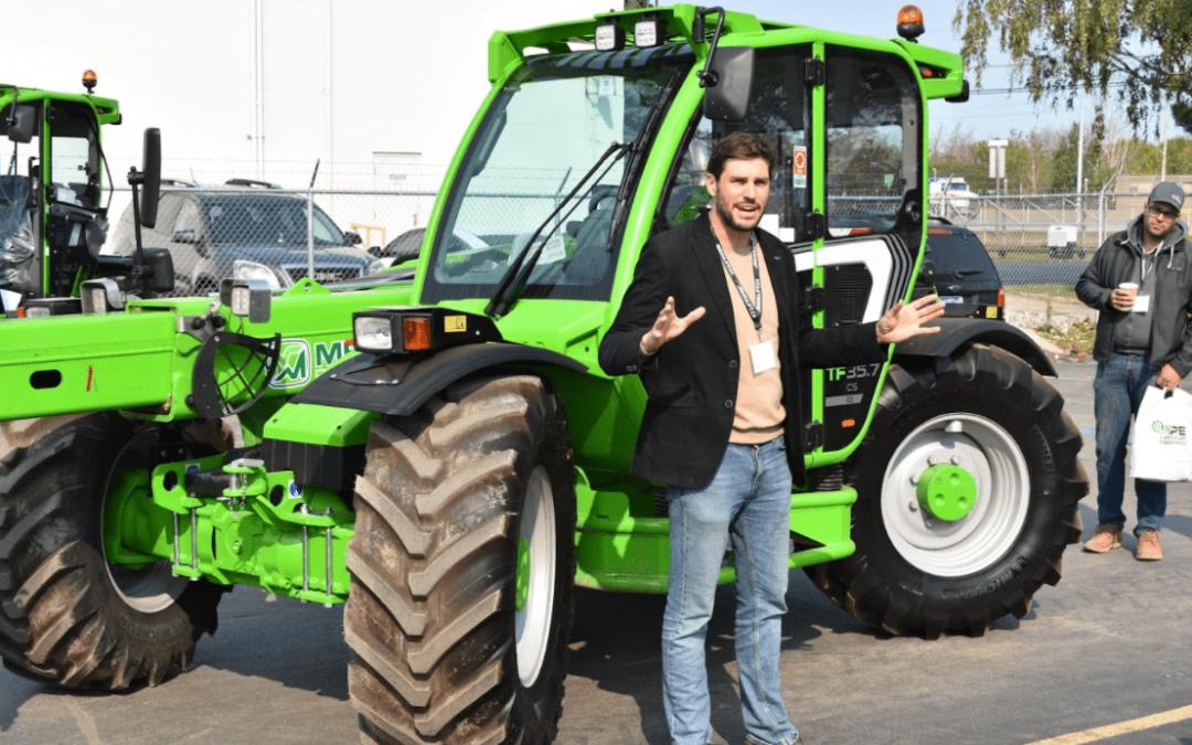 Manulift et Nextra accueillent les paysagistes d'Ontario pour un mini salon de déneigement