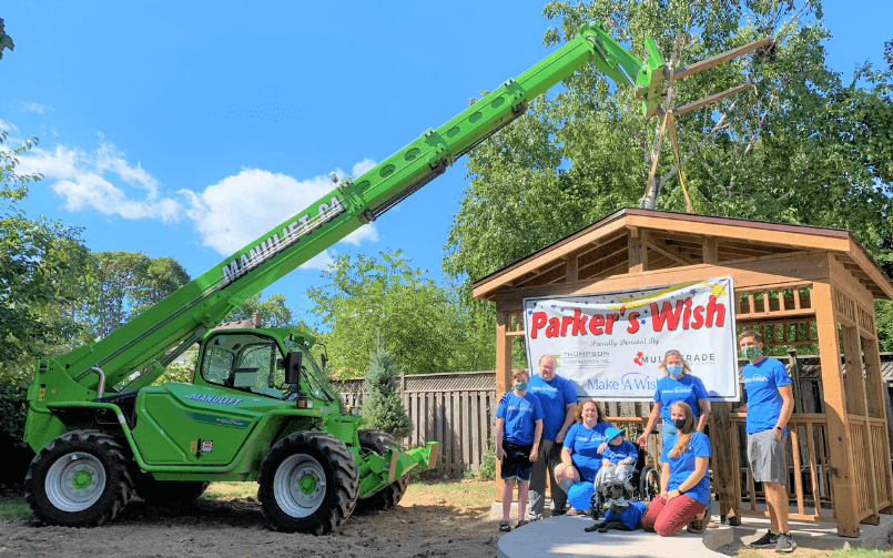 How Merlo and Thompson Construction helped make a dream come true