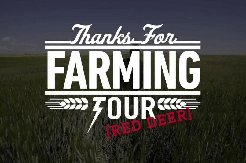 """Un résumé de l'expérience de Manulift au """"Thanks For Farming Tour"""" à Red Deer"""