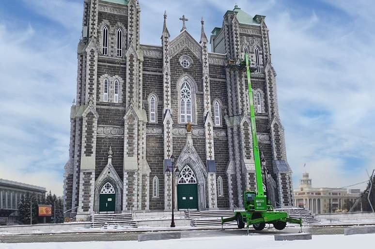 Maçonnerie Nouveau-Monde a trouvé un créneau dans la restauration d'édifices patrimoniaux