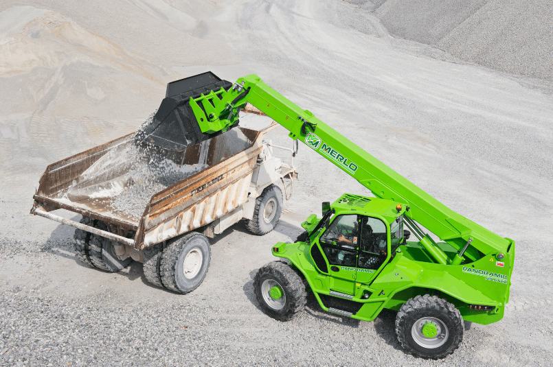 Top 5 Advantages of Using a Merlo for your Mining Operations