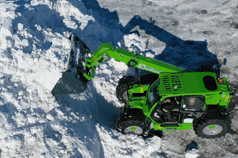 Discover why Ontario snowplowing businesses are using Merlo to become more efficient