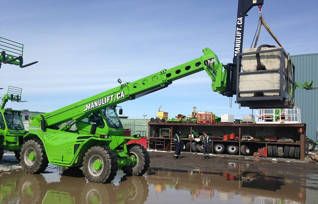 Equipment Journal: Here are 7 ways to improve concrete operations with a telehandler