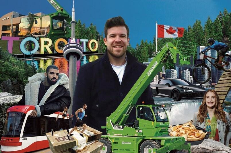 Du Québec à Toronto, une nouvelle aventure pour un représentant des ventes chez Manulift!