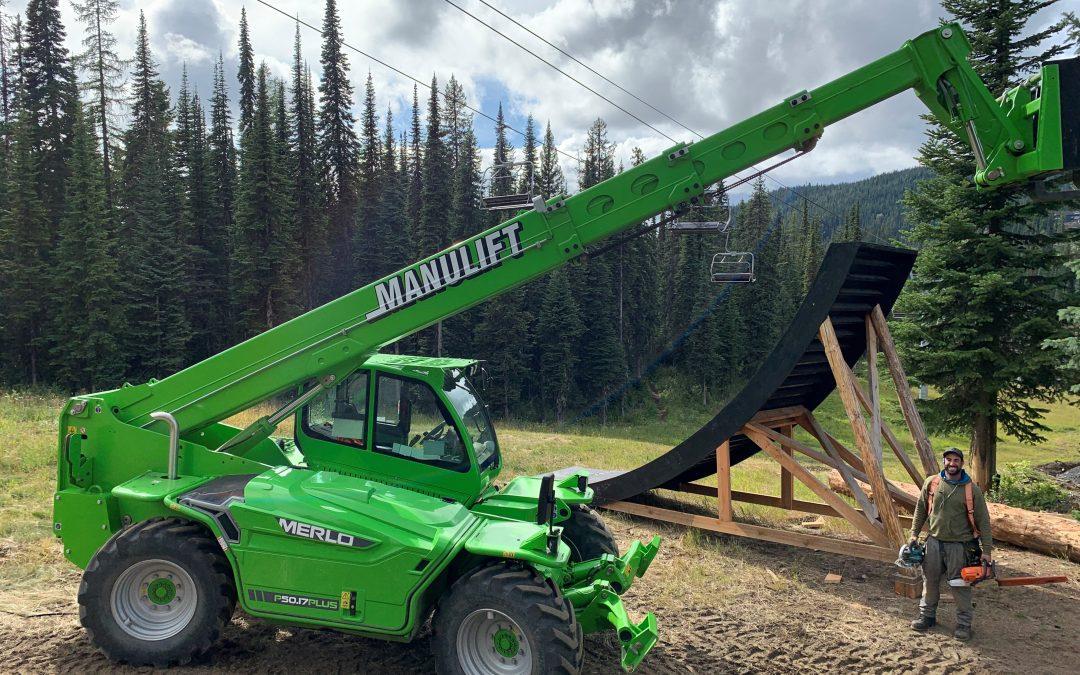 Manulift et SilverStar Mountain Resort en Colombie-Britannique annonce leur partenariat!